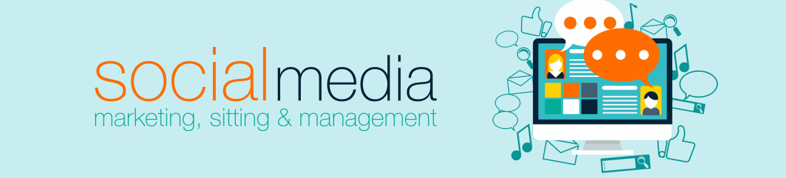 social media marketing, sitting and management